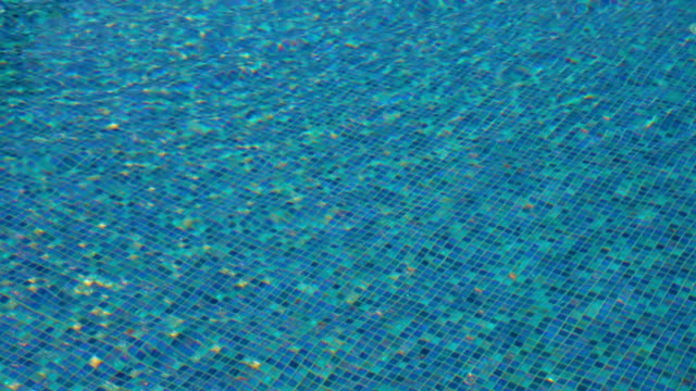 sfondo di acqua piscina - piscina pubblica all'aperto video stock e b–roll