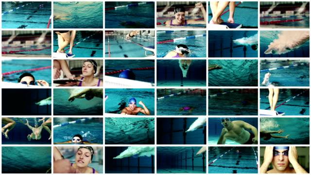 Swimming Video Wall
