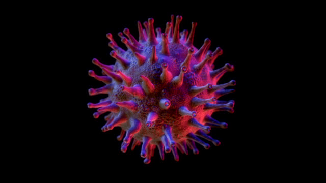 swine flu h1n1 virus (hd/loop) - matte stock videos & royalty-free footage
