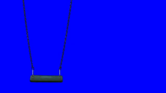 vídeos y material grabado en eventos de stock de swing de croma key - columpiarse
