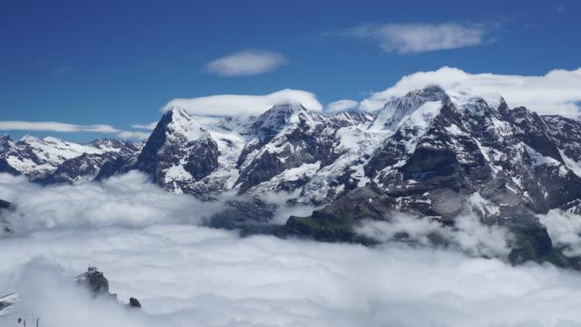 Zeitraffer Schweizer Alpen