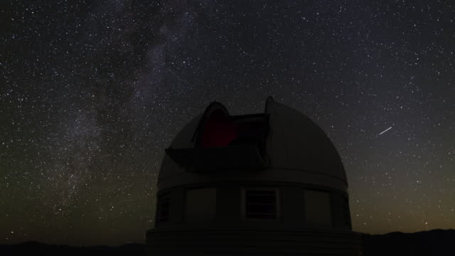 Swiss Telescope and Starry Sky