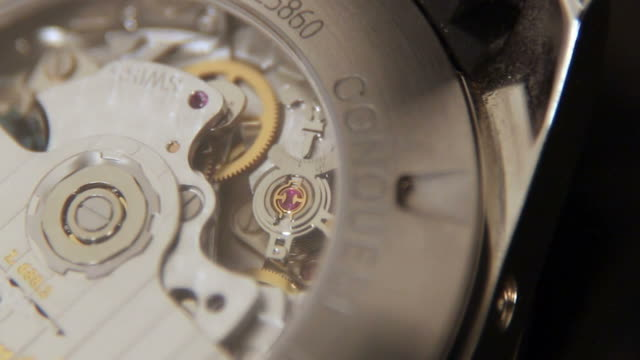 swiss watch longines - stone object stock videos and b-roll footage