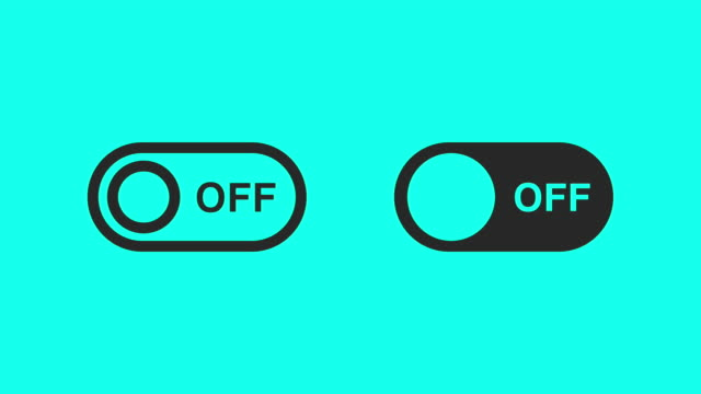 switch - vector animate - contorno forma video stock e b–roll