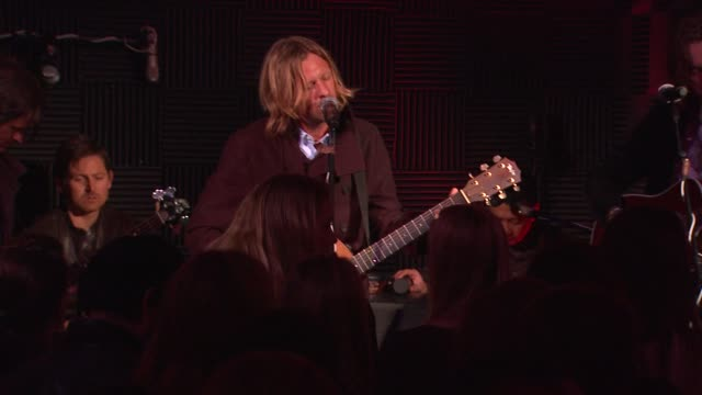 switchfoot at red light management postgrammy celebration hosted by tmobile and google music on 2/12/12 in los angeles ca - google brand name stock videos and b-roll footage