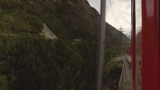 Zwitserland trein voor vervoer