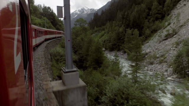 Switzerland train for transportation