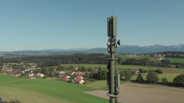 switzerland was among the first countries to begin deploying 5g but health fears over radiation from the antennas that carry the next generation... - 5g stock videos & royalty-free footage