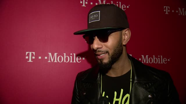 INTERVIEW Swizz Beatz dicusses how he's excited to perform at TMobile Launches Unlimited Global Data at Special Event Featuring Shakira in NYC's...