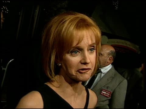 swoosie kurtz at the 'liar liar' premiere at universal amphitheatre in universal city, california on march 18, 1997. - universal city video stock e b–roll