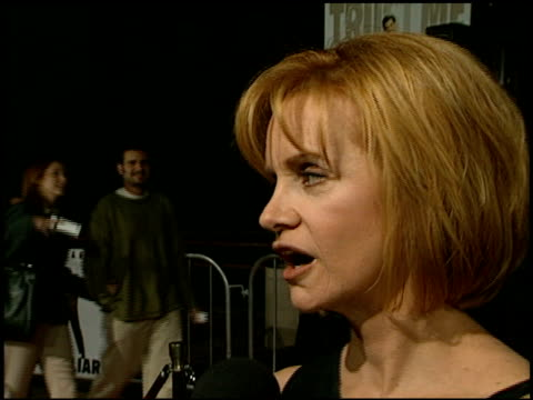 swoosie kurtz at the 'liar liar' premiere at universal amphitheatre in universal city california on march 18 1997 - swoosie kurtz stock videos & royalty-free footage