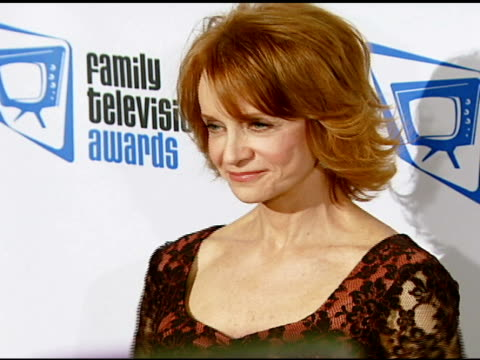 swoosie kurtz at the ninth annual family television awards sponsored by the family friendly programming forum at the beverly hilton in beverly hills... - swoosie kurtz stock videos & royalty-free footage