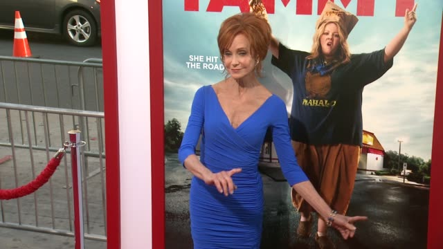 swoosie kurtz at the tammy los angeles premiere at tcl chinese theatre on june 30 2014 in hollywood california - swoosie kurtz stock videos & royalty-free footage