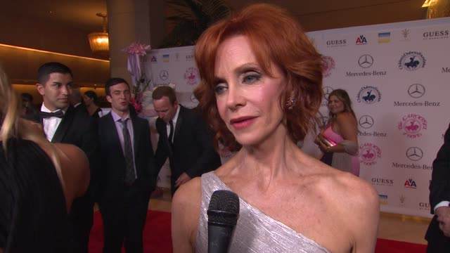 swoosie kurtz on the event at 26th anniversary carousel of hope ball on in beverly hills ca - swoosie kurtz stock videos & royalty-free footage