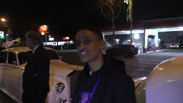 INTERVIEW Syd Tha Kyd talks about her band The Internet outside Delilah Nightclub in West Hollywood in Celebrity Sightings in Los Angeles