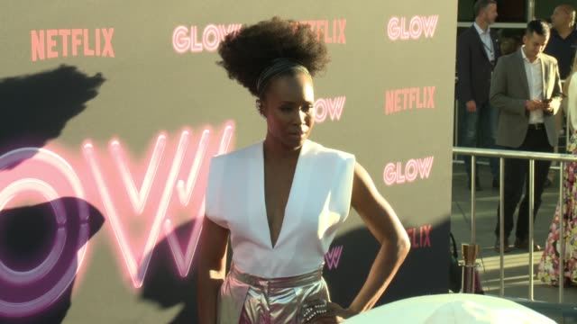 sydelle noel at a netflix original series glow los angeles premiere at arclight cinemas cinerama dome on june 21 2017 in hollywood california - cinerama dome hollywood stock videos and b-roll footage