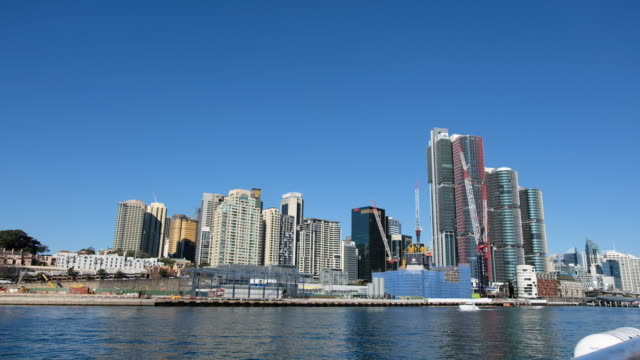 ws : sydney australia cityscape - financial district stock videos & royalty-free footage
