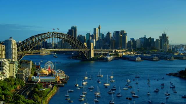 Sydney, Australia Day to Night Time Lapse