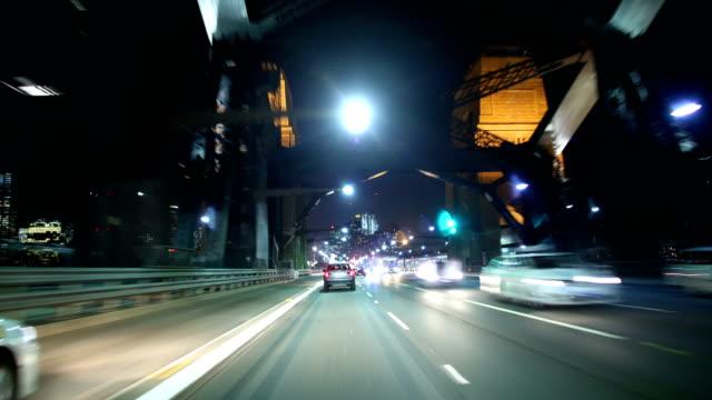 Sydney, Australia Driving Time Lapse: 4K