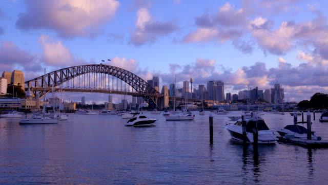 Sydney, Australien:  Der Dämmerung