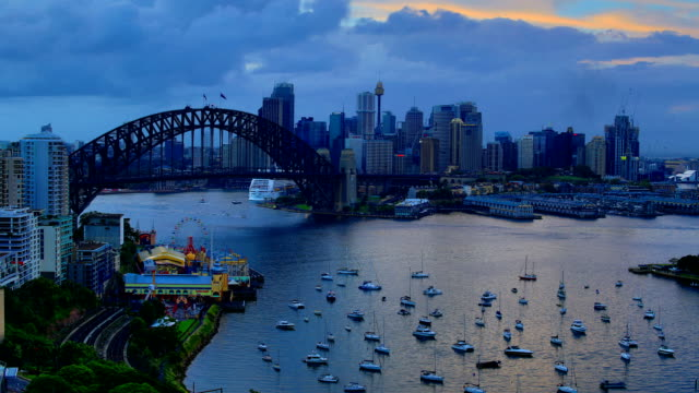 sydney, australia time lapse: 4k - sydney stock videos & royalty-free footage