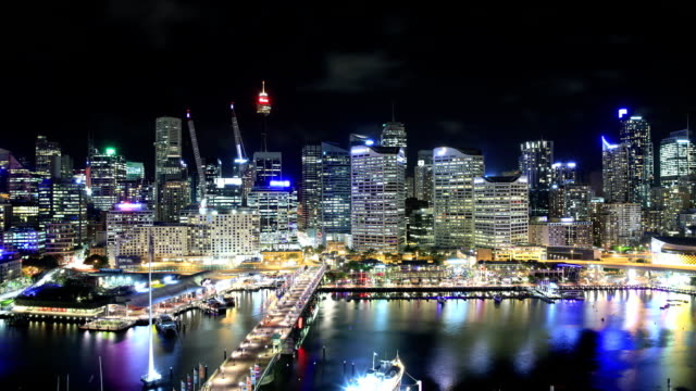 stockvideo's en b-roll-footage met sydney, australia time lapse - capital cities