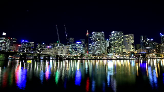 stockvideo's en b-roll-footage met sydney, australië time-lapse - capital cities