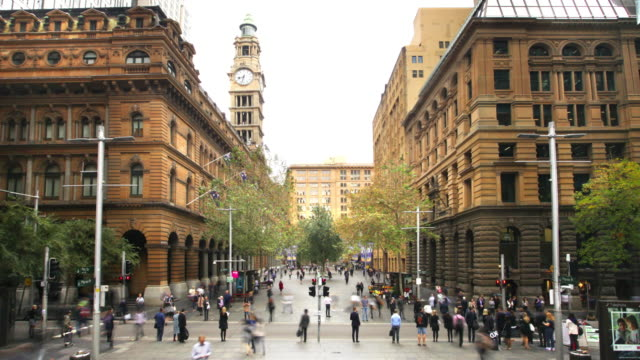 sydney business centre, australia - australia stock videos & royalty-free footage