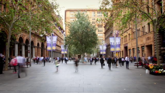 sydney business centre, australia - sydney stock videos & royalty-free footage