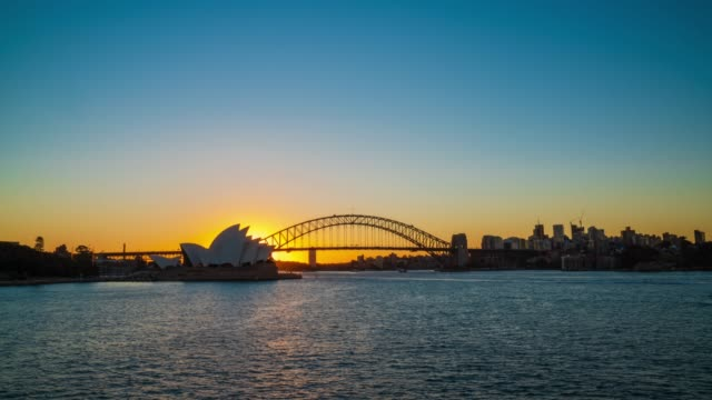 sydney cityscape with panorama view, new south wales, australia. - sydney stock videos & royalty-free footage