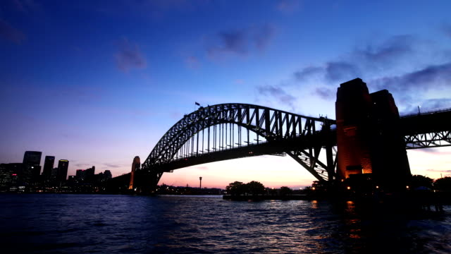 Sydney Habour Bridge Sunset