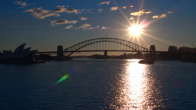 sydney harbour bridge, sydney, new south wales, australia - sydney australia stock videos and b-roll footage