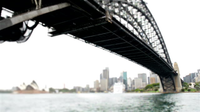 Sydney Harbour Bridge tilt-shift