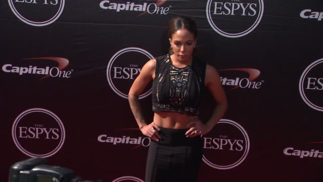 sydney leroux at the 2015 espys at microsoft theater on july 15 2015 in los angeles california - microsoft theater los angeles stock videos and b-roll footage
