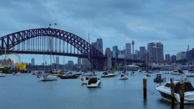 sydney, nsw, australia: skyline - small boat stock videos & royalty-free footage