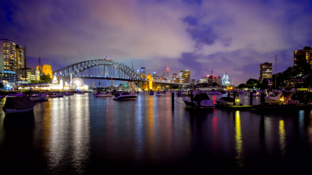 sydney, nsw, australia skyline - sydney stock videos & royalty-free footage