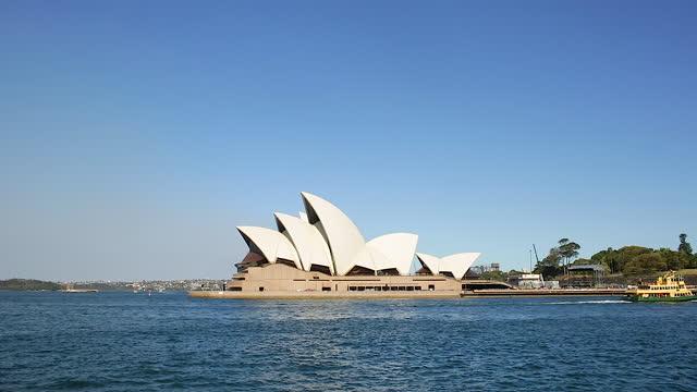 sydney opera house / sydney, australia - orchestra video stock e b–roll