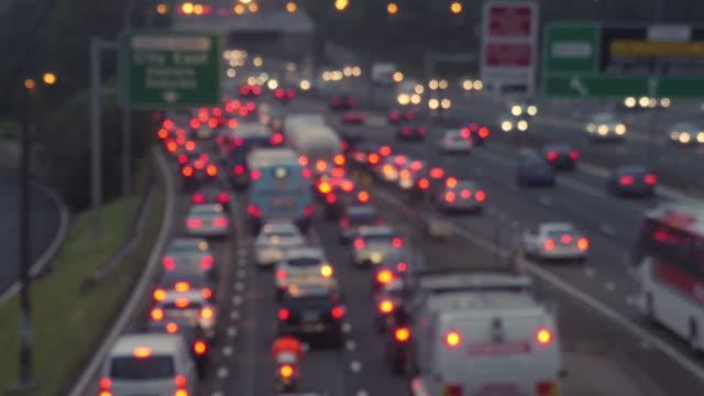 Sydney peak hour traffic timelapse shot in 4k