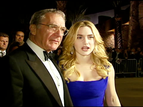 sydney pollack and kate winslet at the 2007 palm springs international film festival gala awards presentation on january 6, 2007. - sydney pollack stock videos & royalty-free footage
