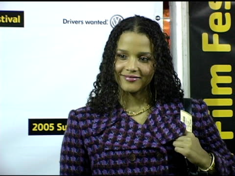 sydney tamiia poitier at the 2005 sundance film festival 'nine lives' premiere at the eccles theatre in park city, utah on january 24, 2005. - sydney tamiia poitier stock videos & royalty-free footage