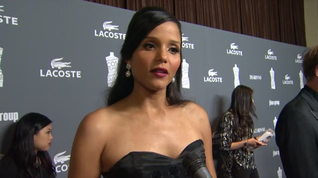sydney tamiia poitier on what brings her out, how important the wardrobe is to a characters development, if she has ever played a character whoõs... - sydney tamiia poitier stock videos & royalty-free footage