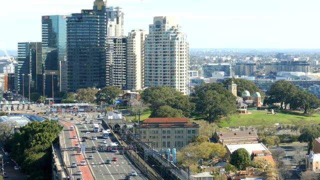 Sydney Traffic, Multiple Lane, Harbour Bridge, Cityscape, Australia