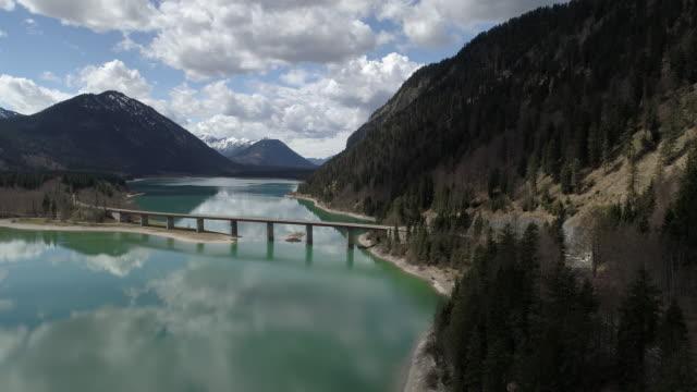 Sylvenstein Dam, Bavaria, Germany, Europe