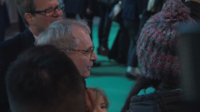 sylvester mccoy at 'the hobbit: the battle of the five armies' world premiere at odeon leicester square on december 01, 2014 in london, england. - the hobbit: the battle of the five armies stock videos & royalty-free footage