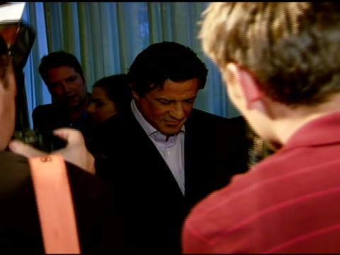 stockvideo's en b-roll-footage met sylvester stallone and mgm chairman and ceo harry e sloan at the los angeles team mentoring 9th annual summer soiree at null in los angeles,... - voorzitter