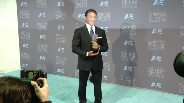 Sylvester Stallone at 21st Annual Critics' Choice Awards in Los Angeles CA
