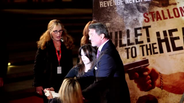 Sylvester Stallone at 'Bullets To The Head' Premiere 7th Rome Film Festival at Auditorium Parco Della Musica on November 14 2012 in Rome Italy