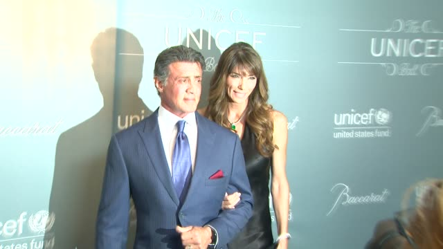 Sylvester Stallone at The 2014 UNICEF Ball Presented By Baccarat in Los Angeles CA