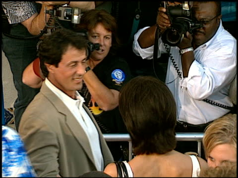 Sylvester Stallone at the 'Contact' Premiere at the Mann Village Theatre in Westwood California on July 1 1997
