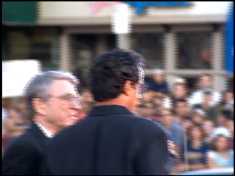 sylvester stallone at the 'true lies' premiere on july 12 1994 - 1994 bildbanksvideor och videomaterial från bakom kulisserna
